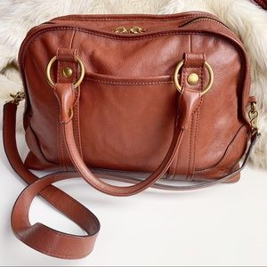 Frye Lucy Domed Crossbody Satchel